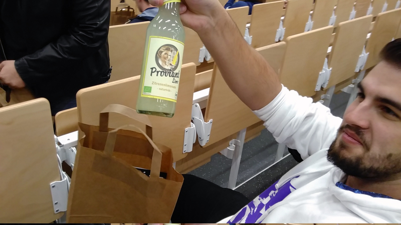 Präsentiert die Limo!